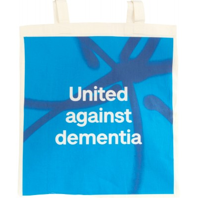United against dementia tote bag